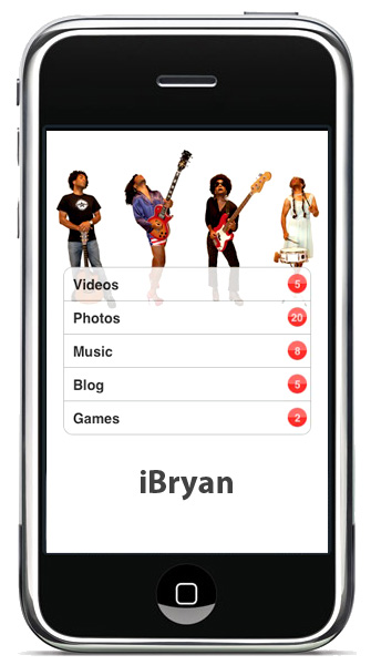 Need your Bry-Bry on the go? There's an app for that.